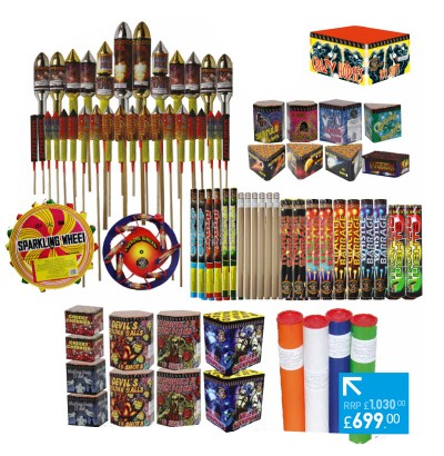 GALAXY MAIN PACK - 79 FIREWORKS