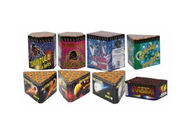 CHINESE BARRAGE PACK 1 - 8 FIREWORKS