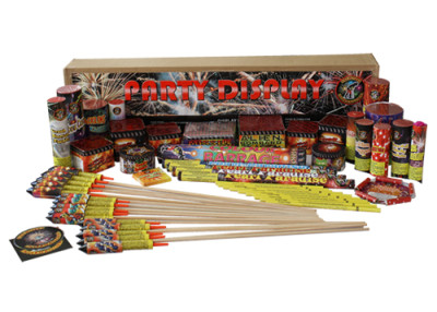 PARTY DISPLAY MAIN PACK - 41 FIREWORKS