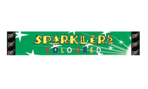 10inch Coloured Sparklers