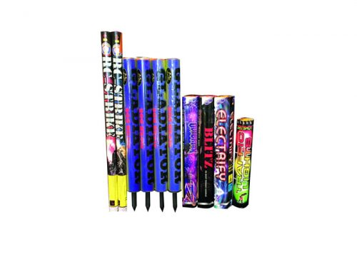 CANDLE PACK 1 - 10 FIREWORKS