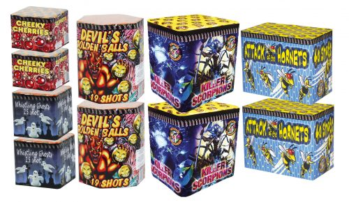 CHINESE BARRAGE PACK 2 - 10 FIREWORKS