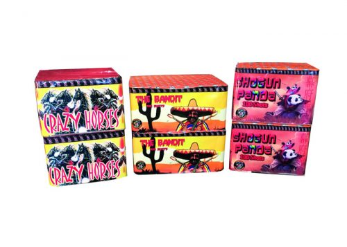 CHINESE BARRAGE PACK 4 - 6 FIREWORKS