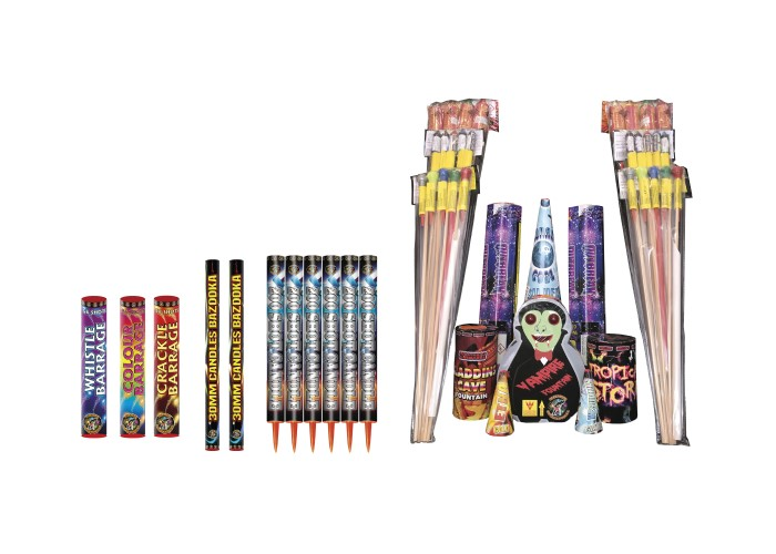 SPECTRUM (NO BANG PACK) - 47 FIREWORKS