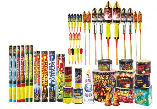 RAINBOW (NO BANG PACK) - 49 FIREWORKS